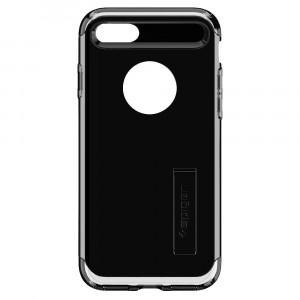 Skal Spigen iPhone 8/7 Case Slim Armor Jet Black