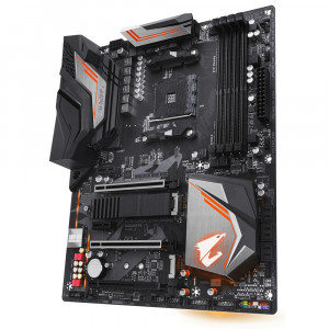 Moderkort Aorus X470 Ultra Gaming X470, Socket AM4, ATX