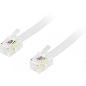 Telekabel Modularkablage 4P4C(RJ9/RJ10/RJ22) 1m