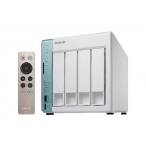 QNAP TS-451A-2G NAS Torn Nätverksansluten (Ethernet) grön, Vit NAS- & lagringsservrar
