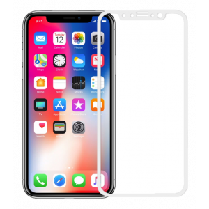 iPhone X / Xs ultra clear glass white