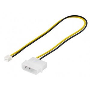 Adapter Ström 2-pin - 4-pin molex (ho-ha)