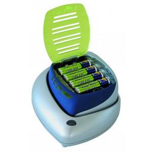 Batteriladdare AA/AAA/9V + 4xAA + 12V billaddare
