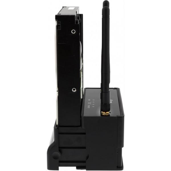 Dockningsstation för 2.5/3.5 hårddisk via USB Wifi LAN Trådlöst Nätverk RJ45