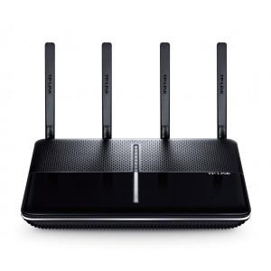 TP-LINK AC3150 Wireless MU-MIMO Gigabit Router Tri-band (2.4 GHz / 5 GHz / 5 GHz) Gigabit Ethernet Svart trådlös router