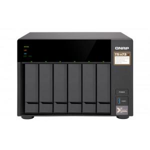 QNAP TS-673 NAS Torn Nätverksansluten (Ethernet) Svart