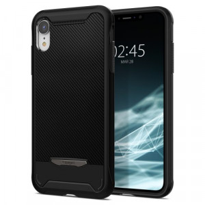 """Spigen New iPhone 6.1"""" Case Hybrid NX Black 064CS24945"""