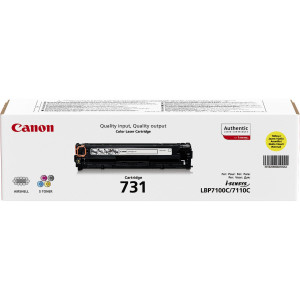 Canon Toner 731 Yellow 1500sid (Original)