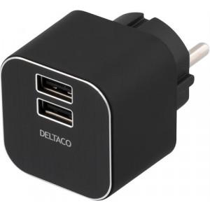 Laddare USB Adapter 3.1A 2xUSB-portar