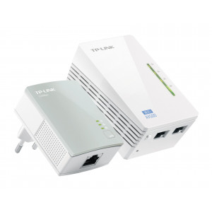 Powerline adapter 2-pack - TP-Link AV500 WiFi
