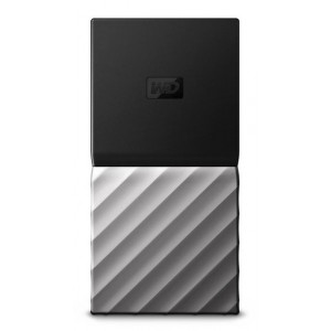 Western Digital My Passport SSD 512GB Svart, Silver
