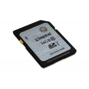 Kingston Technology Class 10 UHS-I SDHC 16GB 16GB SDHC UHS Class 10 flashminne