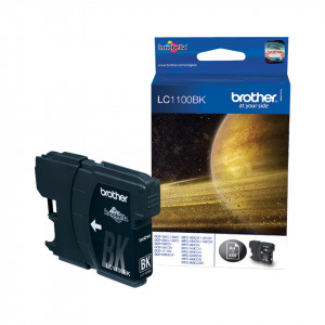 Brother LC1100BK Black 325sid (Original)