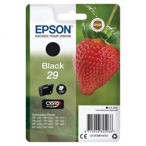 Epson 29 T2981 Svart Original C13T29814012