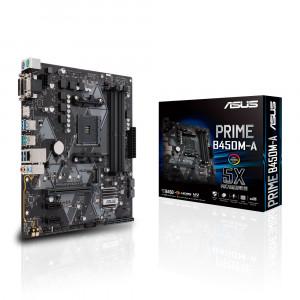 ASUS PRIME B450M-A Uttag AM4 AMD B450 Micro ATX