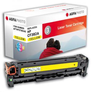 HP Toner 312A CF382A 2700 sidor Yellow