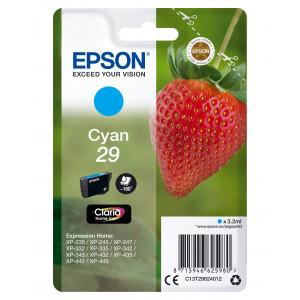 Epson Singlepack Cyan 29 Claria Home Ink 3.2ml 180sidor bläckpatroner