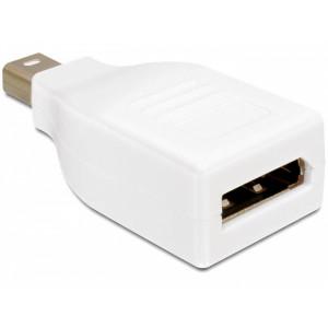 Adapter Mini DisplayPort - DisplayPort (ha-ho) vit