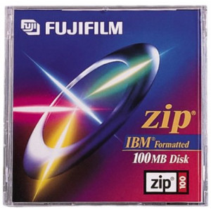 Fujifilm 100MB IBM Formatted Zip Disk (1-Pack)