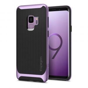 Skal Spigen Galaxy S9 Case Neo Hybrid Lilac Purple