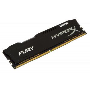 Kingston 8GB 2666MHz DDR4 CL16 DIMM 1Rx8 HyperX FURY Blk