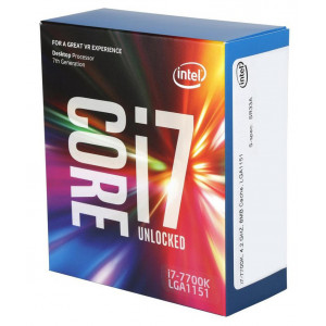 Intel Core ® ™ i7-7700K Processor (8M Cache, up to 4.50 GHz) 4.2GHz 8MB Smart Cache Låda processorer