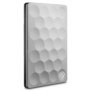 Seagate Backup Plus Ultra Slim 2000GB Platimun externa hårddiskar