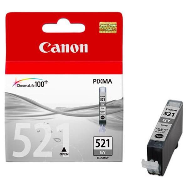 Canon CLI-521 GY Grå bläckpatroner