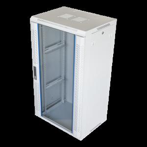 """19"""" 22U white wall mounted cabinett"""