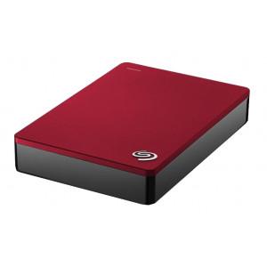 Seagate Backup Plus Portable 4TB 4000GB Röd externa hårddiskar
