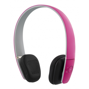 Bluetooth Headset - On-Ear med mikrofon Rosa