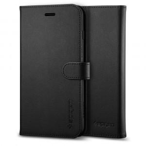 Spigen iPhone 8/7 Case Wallet S Black 054CS22635