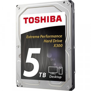 "3.5"" Hårddisk 5TB - Toshiba X300 HDETR10GCA51."