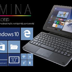 Lamina laptop och surfplatta i ett net2world