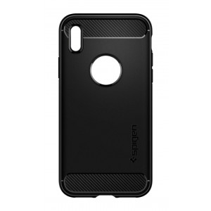 Skal Spigen iPhone X Rugged Armor Matte Black