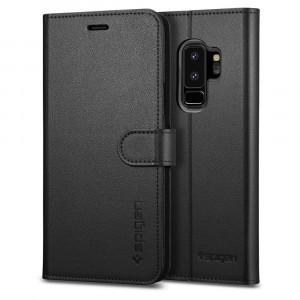 Skal Spigen Galaxy S9+ Case Wallet S Black