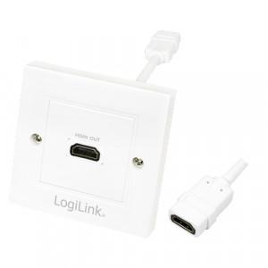Vägguttag HDMI 1-port