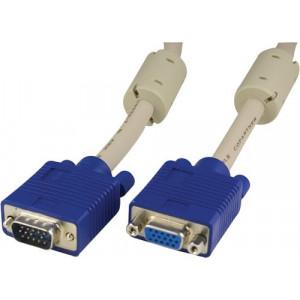VGA kabel HD15 ha-ho (5m) Förlängning
