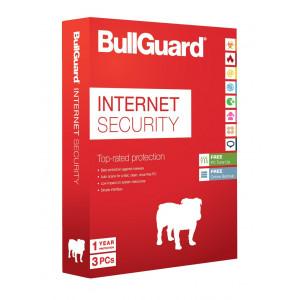 BullGuard Internet Security 1år  3-Användare