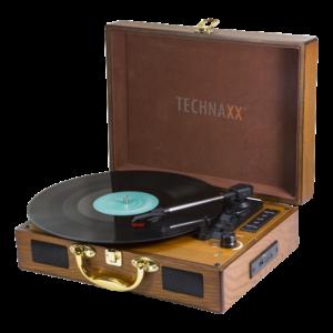 Technaxx Nostalgia Bluetooth record converter TX-101, brun. Digitalisera LP vinylskivor