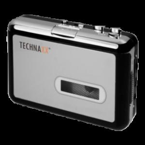 Technaxx DigiTape DT-01 Svart ljudomvandlare
