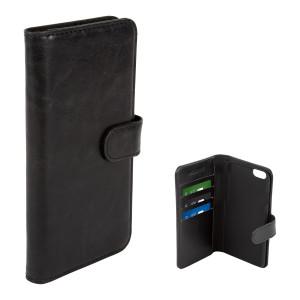 Fodral - iPhone 6/6S - Plånboksfodral svart
