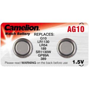 Batteri LR1130/189/D189A/RW89/AG10/LR54/G10 2-pack LR1130