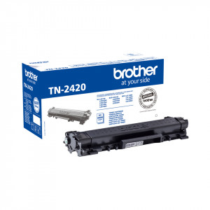 Toner Brother TN2420 3000 sidor Svart Original (OMGÅENDE LEVERANS)