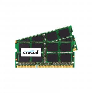 SODIMM DDR3-1600 Crucial 16GB (2x8GB) DDR3-1600 SO-DIMM CL11 16GB DDR3 1600MHz RAM-minnen