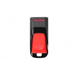 USB minne -  32GB USB 2.0 - Sandisk Cruzer Edge