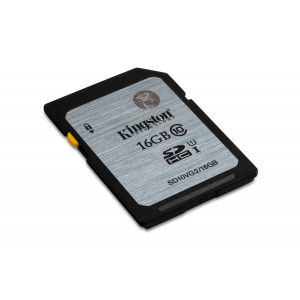 SD Card - 16GB Kingston SDHC UHS-I Class 10