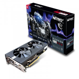 Grafikkort - AMD Radeon RX580 4GB Sapphire Nitro+
