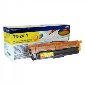 Brother Toner TN-241Y Yellow 1400 sidor Original