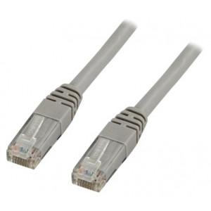 Nätverkskabel Cat6  (0.5m) UTP Grå